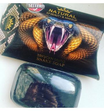 Натуральное змеиное мыло 80 гр