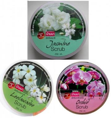 Цветочный скраб Banna 250 мл 3 аромата