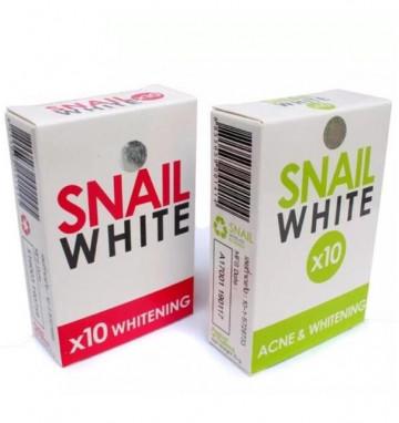 Улиточное мыло Snail White 70 гр 2 вида