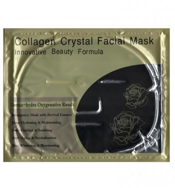 Черная коллагеновая маска от угрей и прыщей