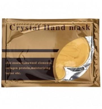 Золотая коллагеновая маска для рук