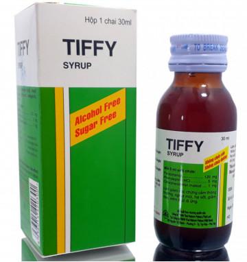 Сироп от простуды Tiffy dey без сахара 60 мл