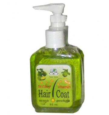Шелковое покрытие для волос с бергамотом
