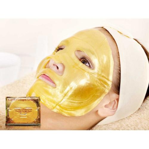 Золотая коллагеновая маска для лица отзывы