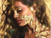 Косметика с золотом для тела и лица