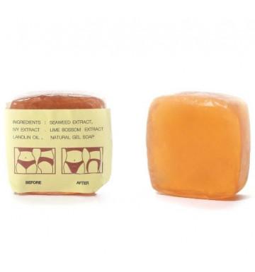 Мыло для похудения и подтяжки кожи