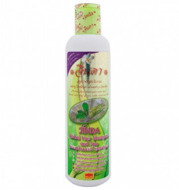 Травяной шампунь с рисовым молоком
