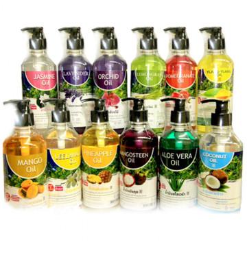 Фруктовое масло для тела 450 мл 6 ароматов