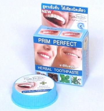 Круглая Зубная паста Prim Perfect 25 гр