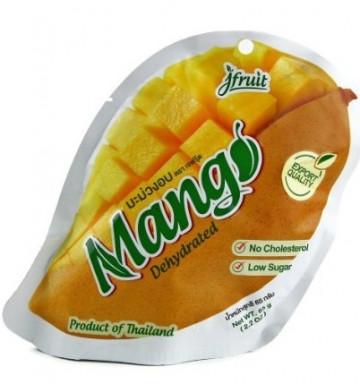 Сушеное манго 50 гр 10% сахара