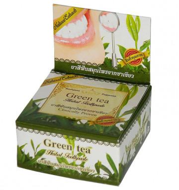 Круглая Зубная паста с зеленым чаем 30 гр