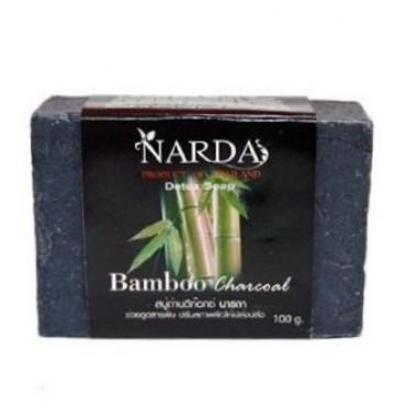 Мыло с бамбуковым углем детокс-эффект