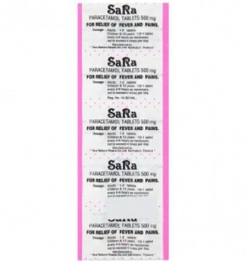 Парацетамол Sara 10 таблеток