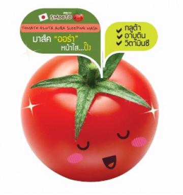 Японская ночная томатная маска