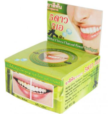 Круглая Зубная паста с углем бамбука