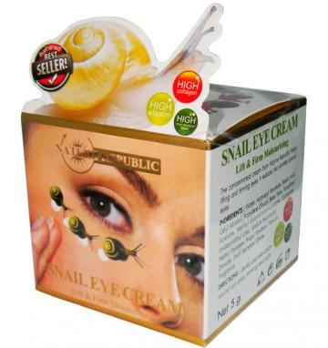 Крем для глаз с клетками улиток 5 гр