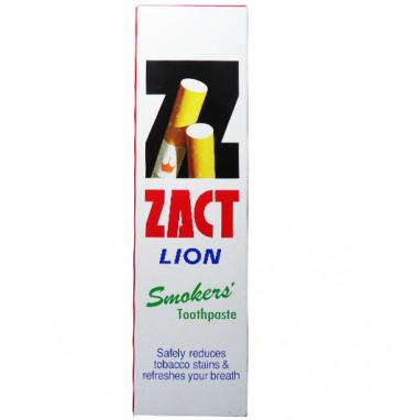 Зубная паста для курильщиков Zact Lion