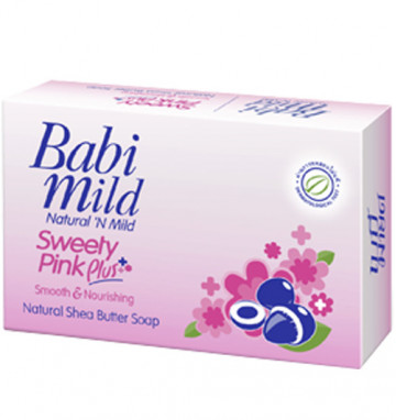 Детское мыло Babi Mild 75 гр 3 вида