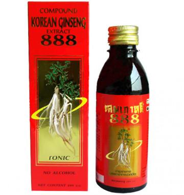 Лечебный напиток из экстракта женьшеня