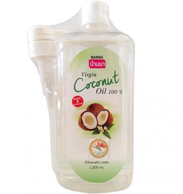 Кокосовое масло BANNA 1 л