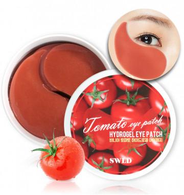 Гидрогелевые патчи для глаз с томатом 60 шт