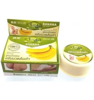 Банановый крем от трещин на пятках