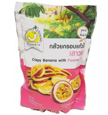 Банановые чипсы с тамариндом и маракуйей