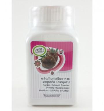 Капсулы для похудения Glucomannan (Конжак)