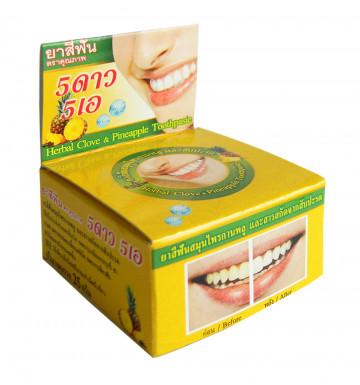 Круглая Зубная паста с ананасом 25 гр