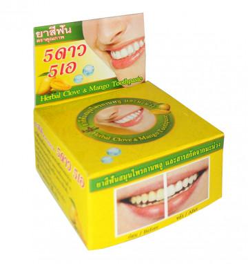 Круглая Зубная паста с манго 25 гр