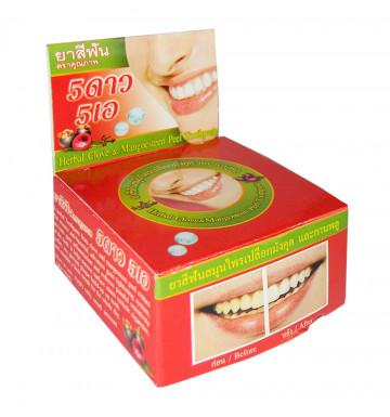 Круглая Зубная паста с мангостином 25 гр