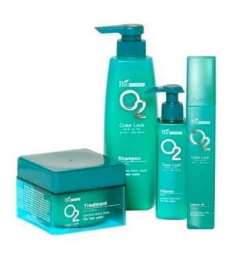 Шампунь O2 для окрашенных волос