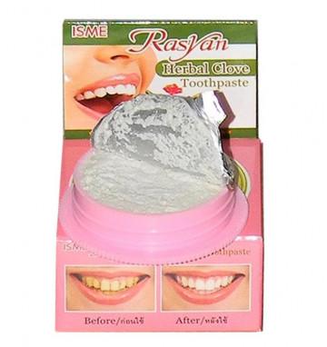 Круглая Зубная паста RasYan с гвоздикой 25 гр